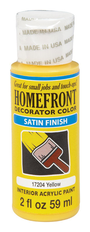 Image Is Loading Homefront Decorator Color Interior Acrylic Latex Paint  Yellow