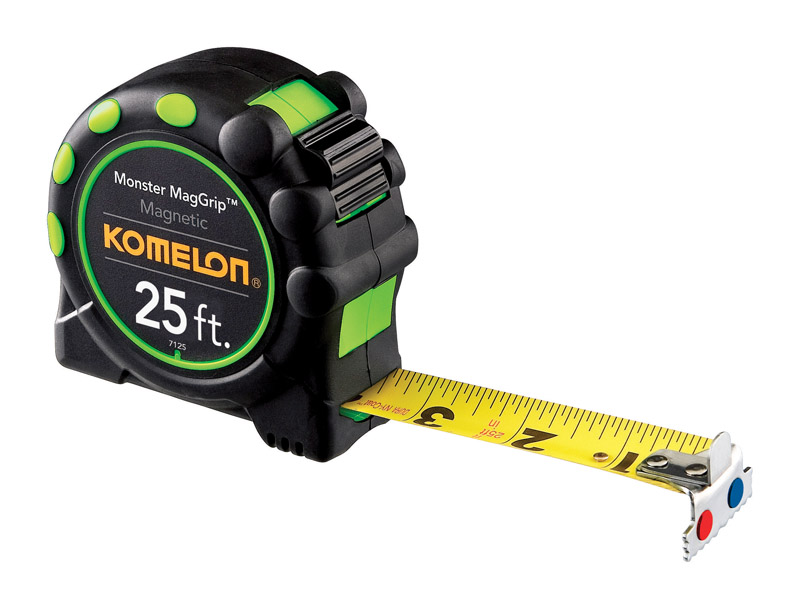 Komelon-Tape-Measure-1-in-W-x-25-ft-L