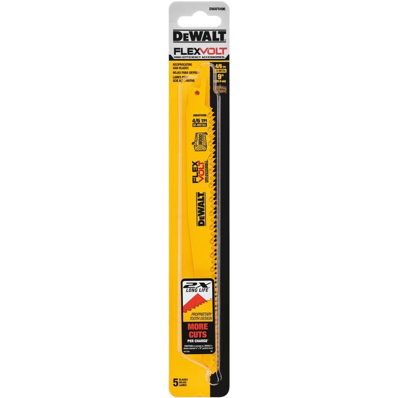 DeWalt-Flexvolt-9-in-L-4-6-TPI-Bi-Metal-Reciprocating-Saw-Blade-5-pk