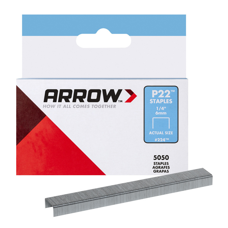 Arrow P22 Plier Staples Gray 14 L
